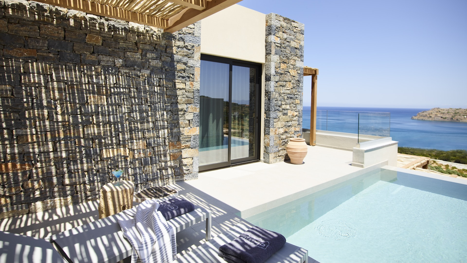 Executive Room Exterior with Pool