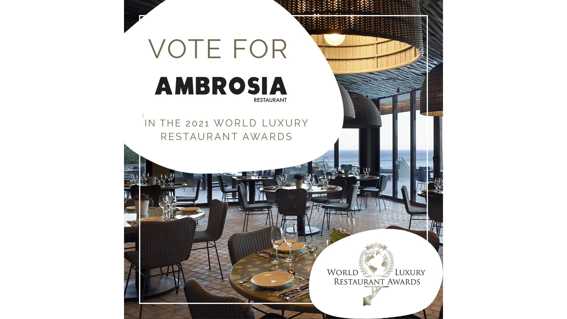 Luxury Restaurant Award Nomination for Cayo's Ambrosia Buffet Restaurant